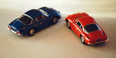 Modell Alpine Renault A110 1300/1600